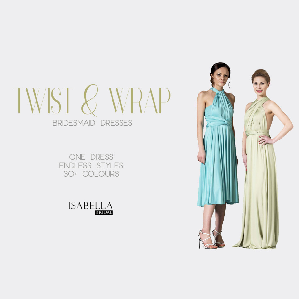 Twist and Wrap Multiway Bridesmaid Dresses